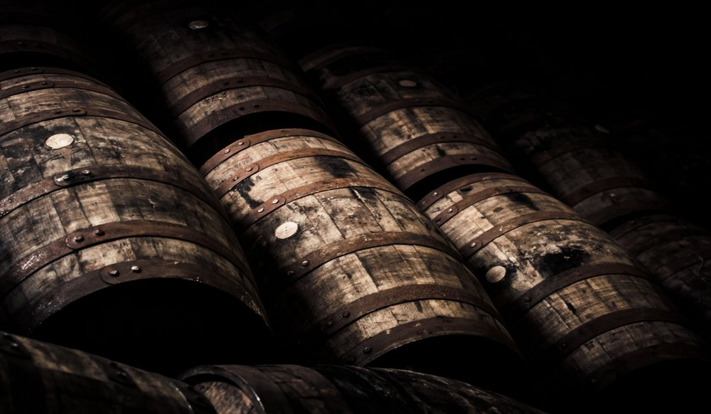 - premium used wine & Bourbon Barrels