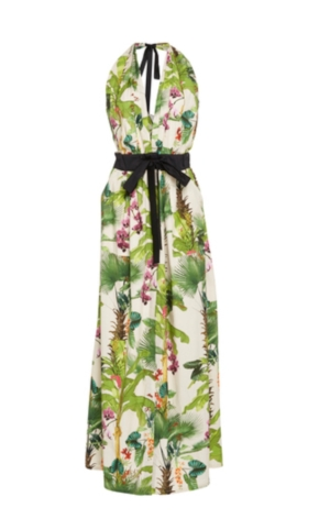 How about a maxi dress with a summery print?