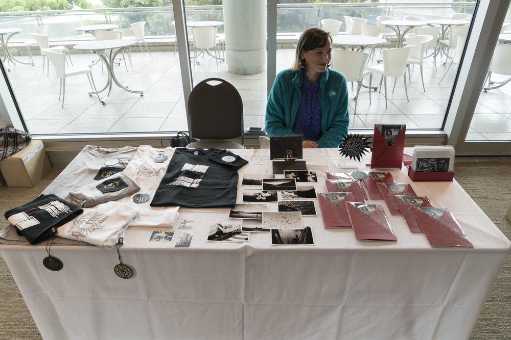 Ximena Sarmiento Robeson Chris Leskovsek's table.