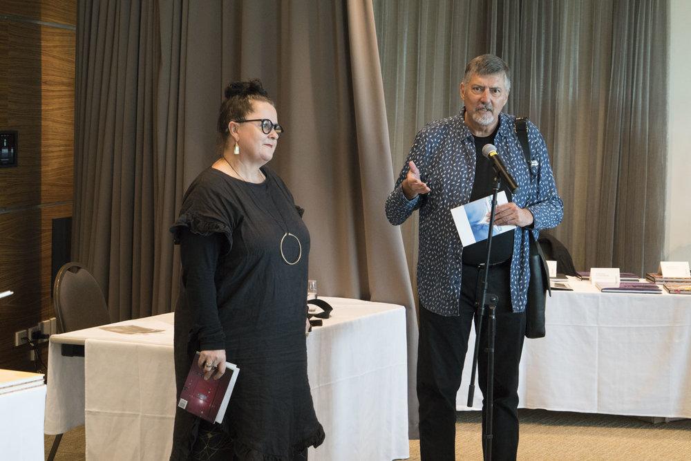 Ann Shelton and Doug Spowart