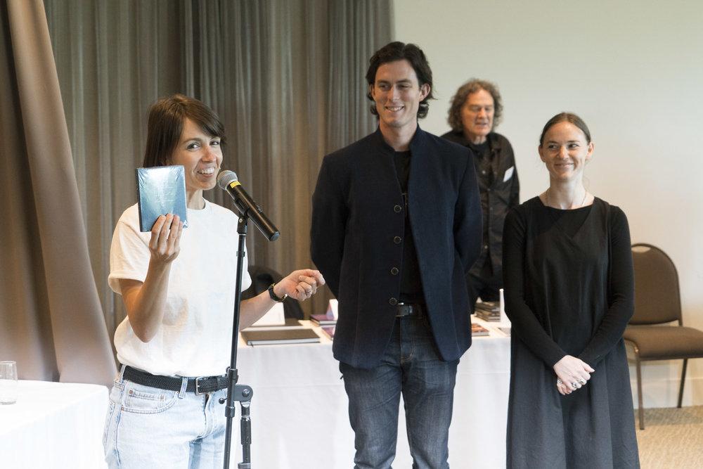 Anita Tótha, Solomon Mortimer, Zahra Killeen-Chance, launching