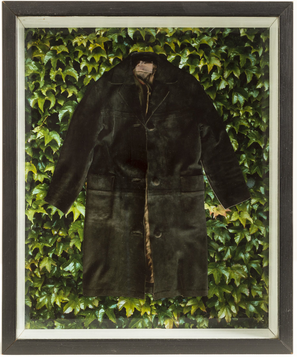 Megan Jenkinson.  Evergreen  1982. From  The Coats of Deception  series.  Cibachrome collage