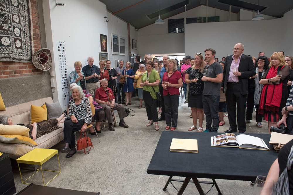 The book launch for  Every Picture Tells a Story , Minnie Street Studios, Auckland 03/12/2015.