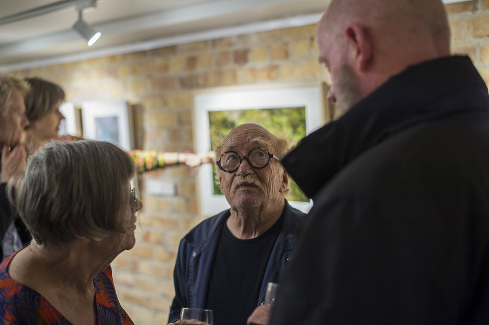 Opening night of the PhotoForum Members' Show, 2018. Photo by Daniel Mayo-Turner