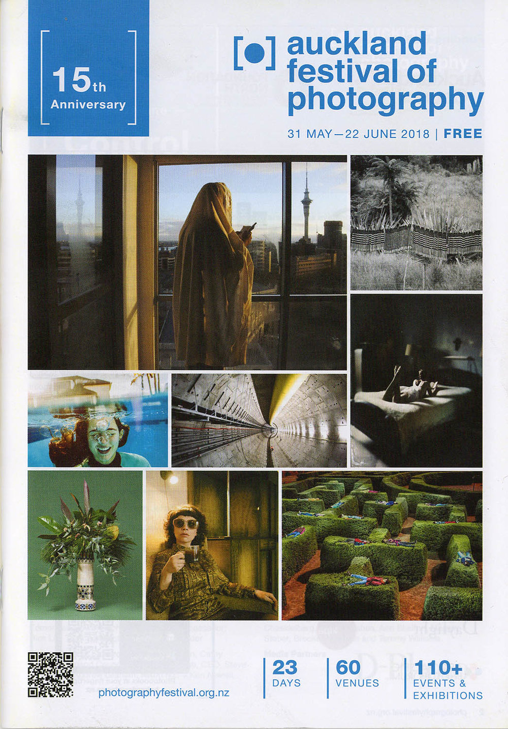 The printed programme is now available from selected venues around Auckland.