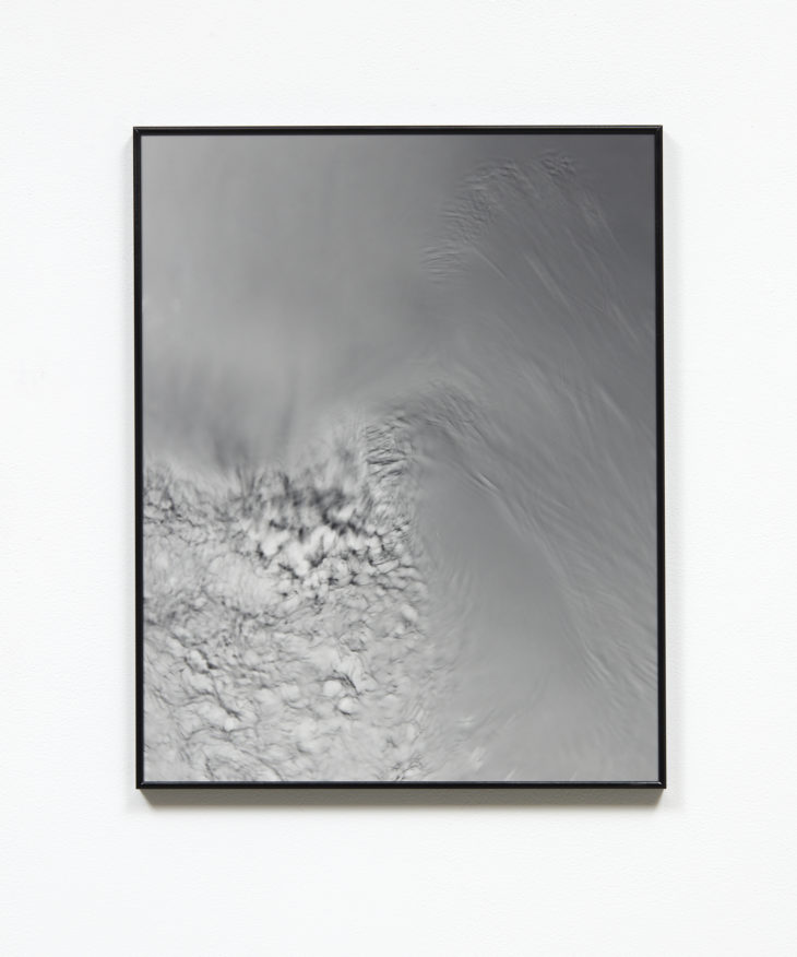 Dissipative Structure II,  2018  Silver gelatin print, museum glass in artist frame  400mm x 600mm