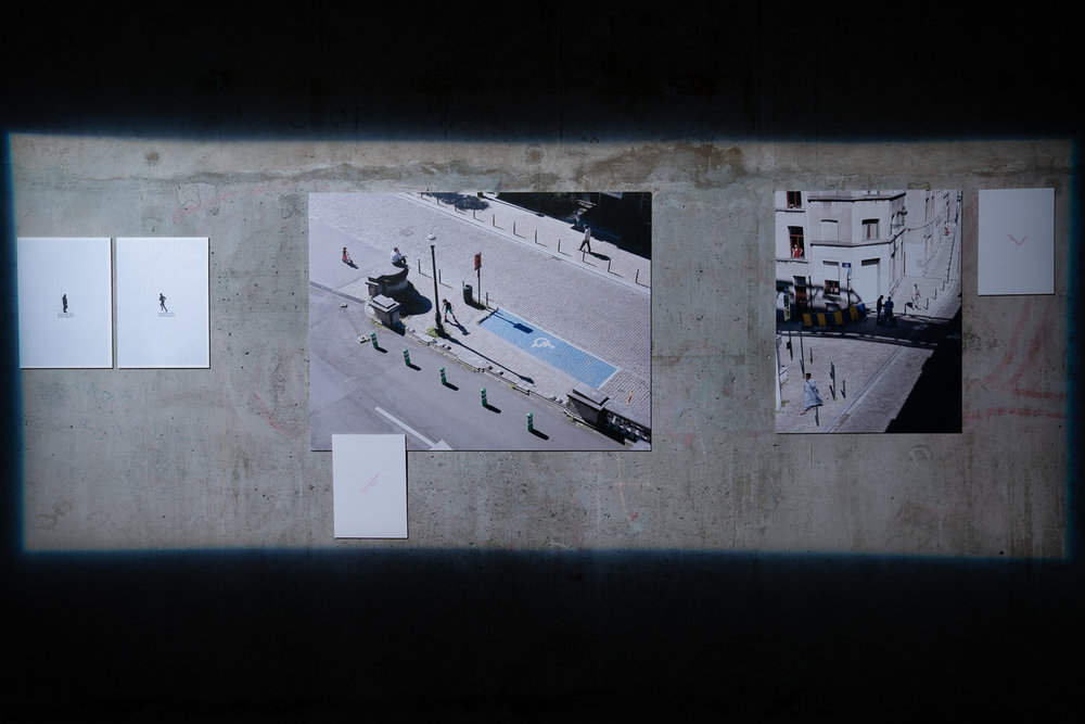 Work by Esther Hovers at the launch of the Auckland Festival of Photography