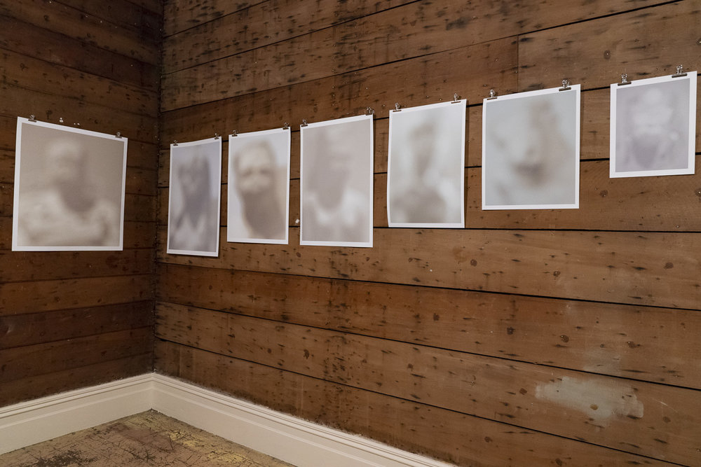 "Installation view of ""Guardians"" by Jon Carapiet at Hum Salon, Grafton Road, Auckland, 2 - 24 June 2018"