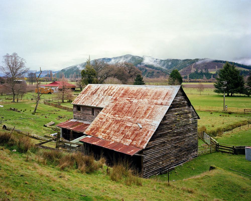 Winter Morning, Derelict Grinding Mill, Near Tapawera