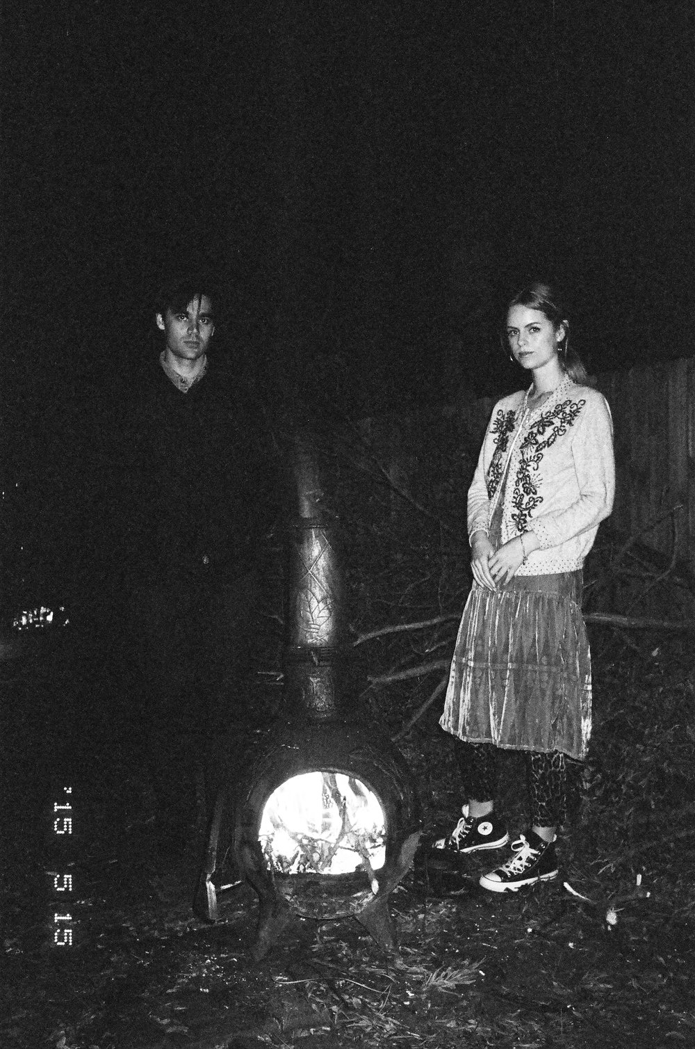 Harry Culy and Lucy Aitchison of Bad News Books (photo: Sam Stephenson)