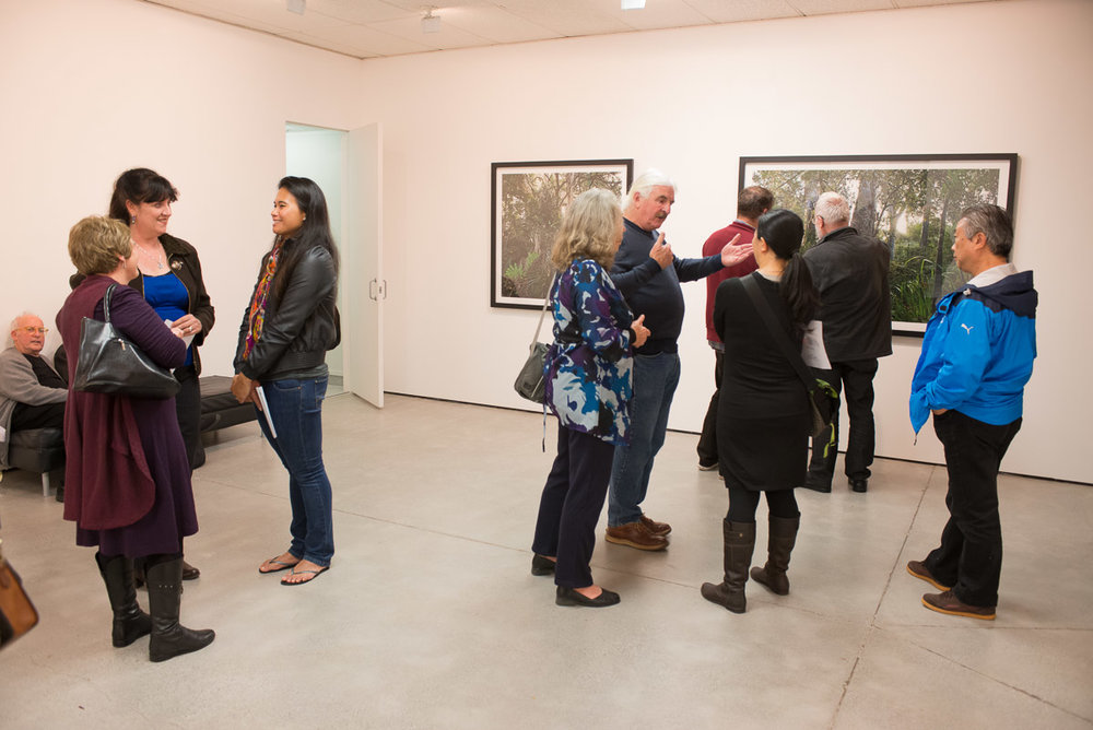 "The opening of the exhibition ""Recent Auckland Photography"" at Northart Gallery, 19 May, 2013."