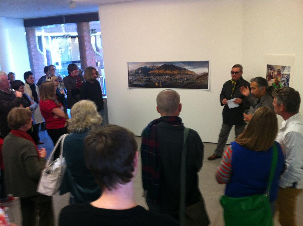 Haru Sameshima discusses his work with Ron Brownson, Northart ga