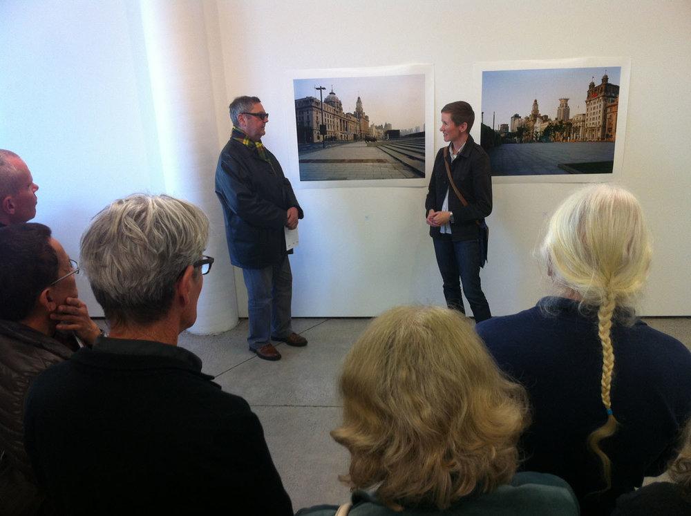 Fiona Amundsen discusses her work with Ron Brownson, Northart ga