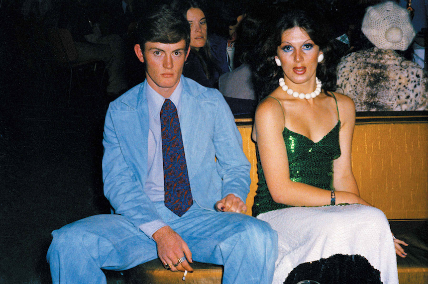 Fiona Clark  Perry and Diana at Miss NZ Drag Queen Ball, Auckland , June 1975
