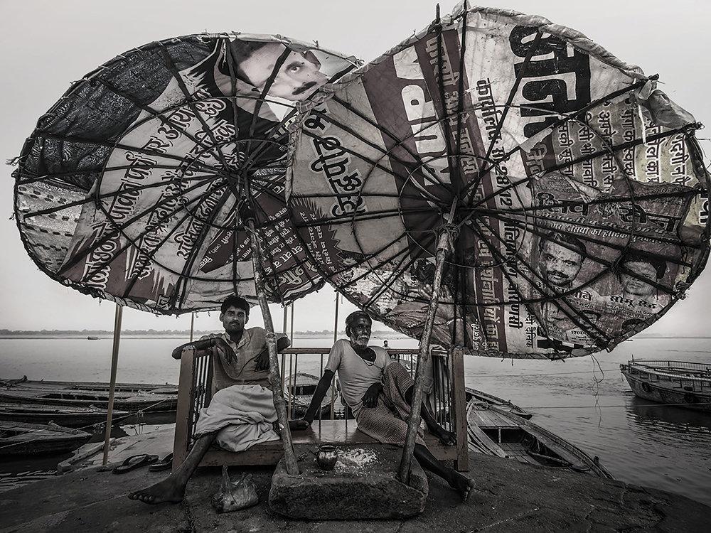 Cai Huansong  Varanasi, India  2013