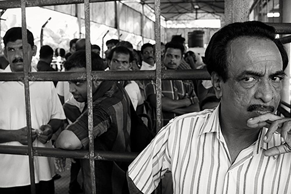 Julian Ward   Guard and Cage. Fort Kochi, Kerala, India  2012