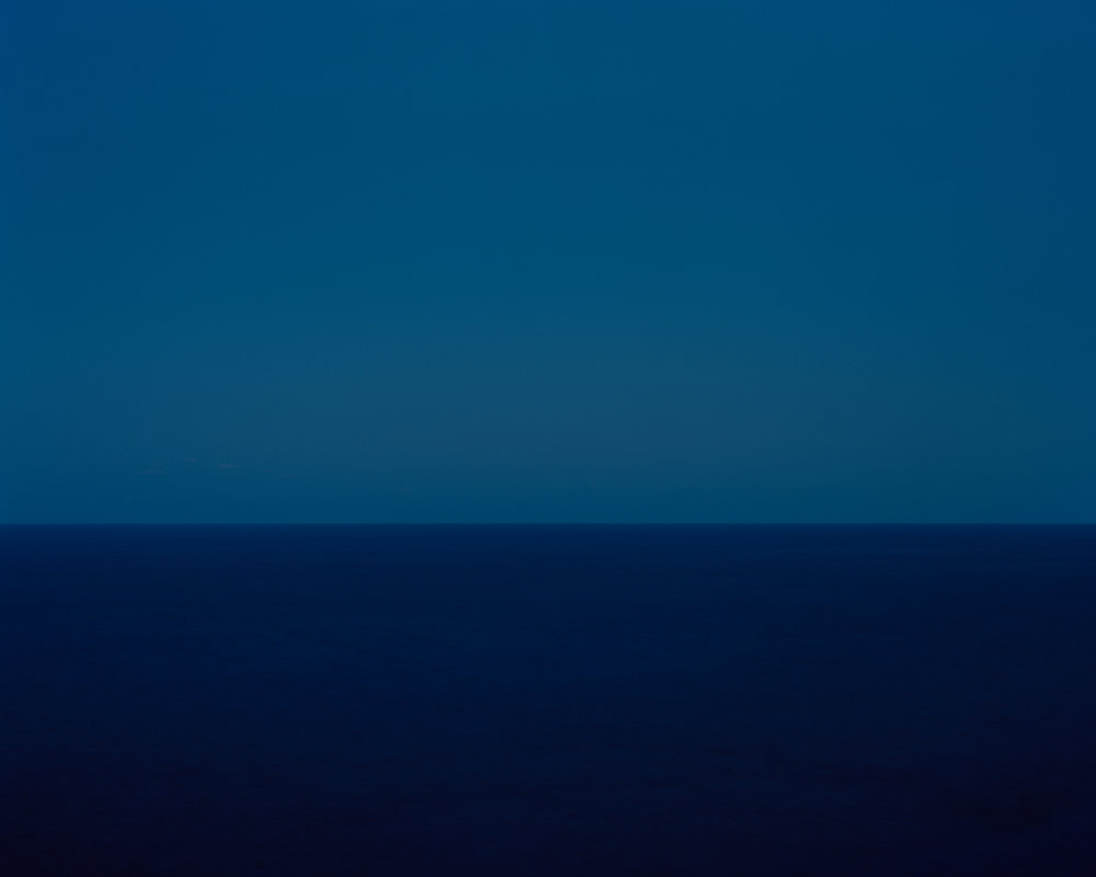 Harry Culy: Seascape #122, blue/blue, The Gap, Vaucluse, Sydney, Australia 2018
