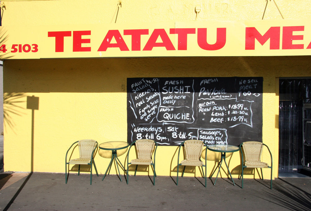 John B. Turner  Te Atatu Meats, 540 Te Atatu Road, 12 March 2005 . (JBT109)