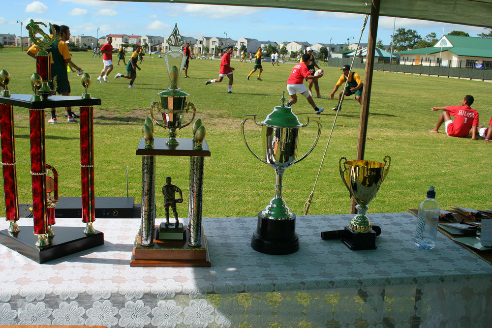 Tongan touch rugby, Jack Pringle Park and Gunner Drive, 28 January 2006. (JBT7935)