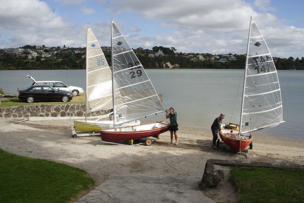Yachts, Chapman Strand, 7 January 2007. (JBT17543)