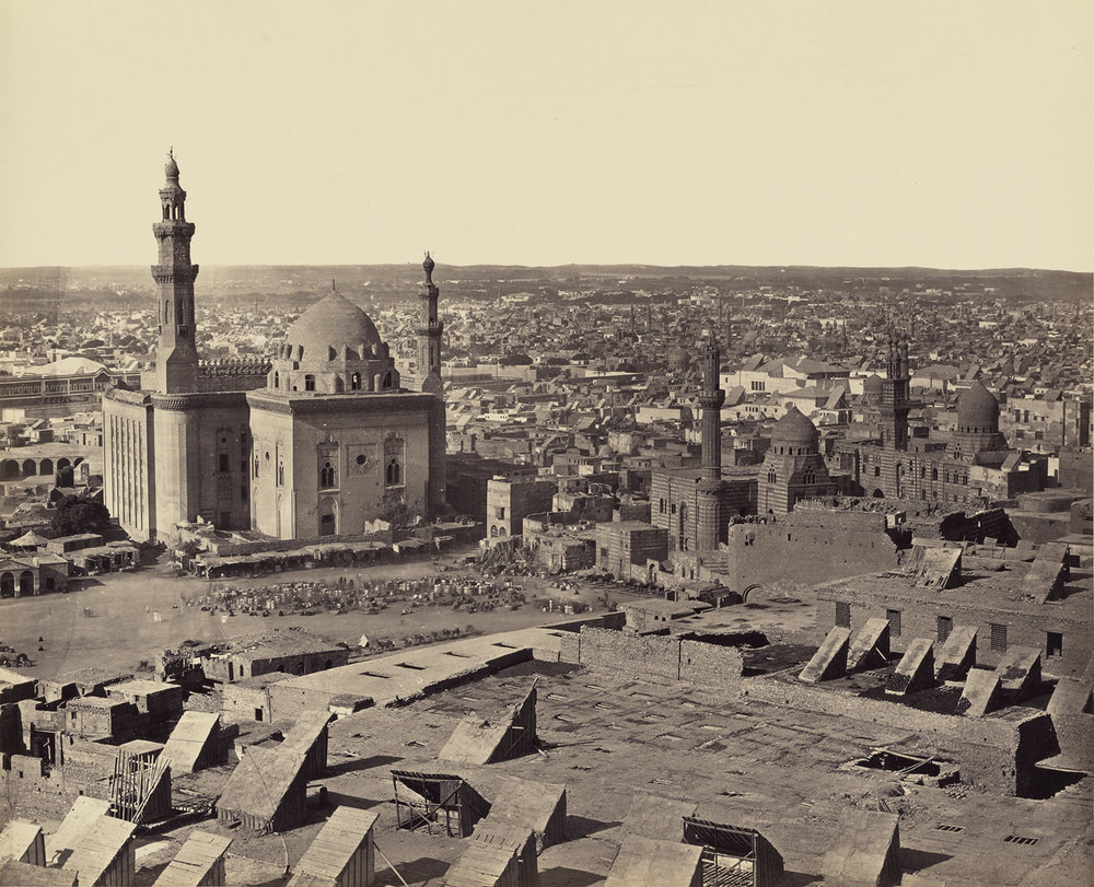 Francis Frith,  Cairo from the Citadel, first view , (1858)