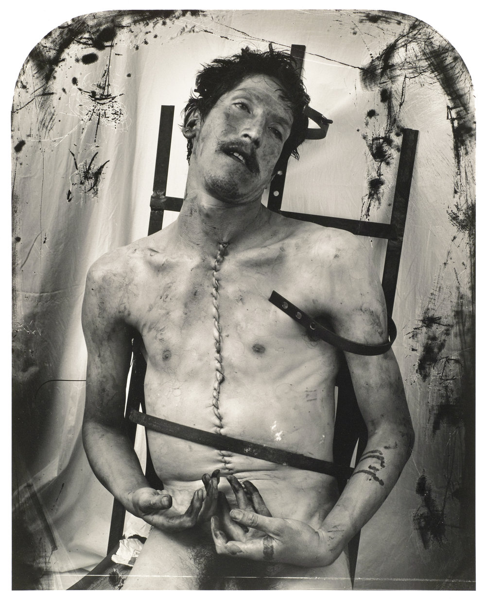 Joel-Peter Witkin:  Glassman, Mexico City  (1994)