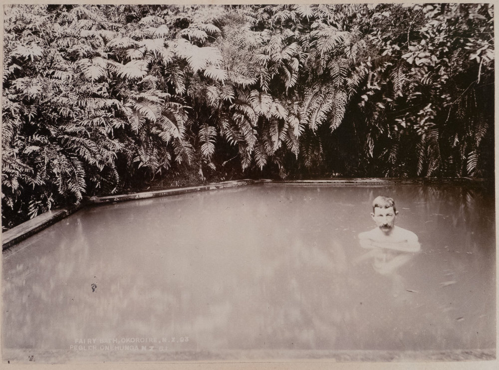 Enos Pegler   Fairy Bath, Okoroire , 1893