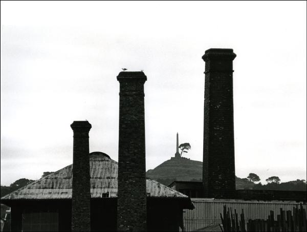 John Fields:  Chimneys, Onehunga,  1968