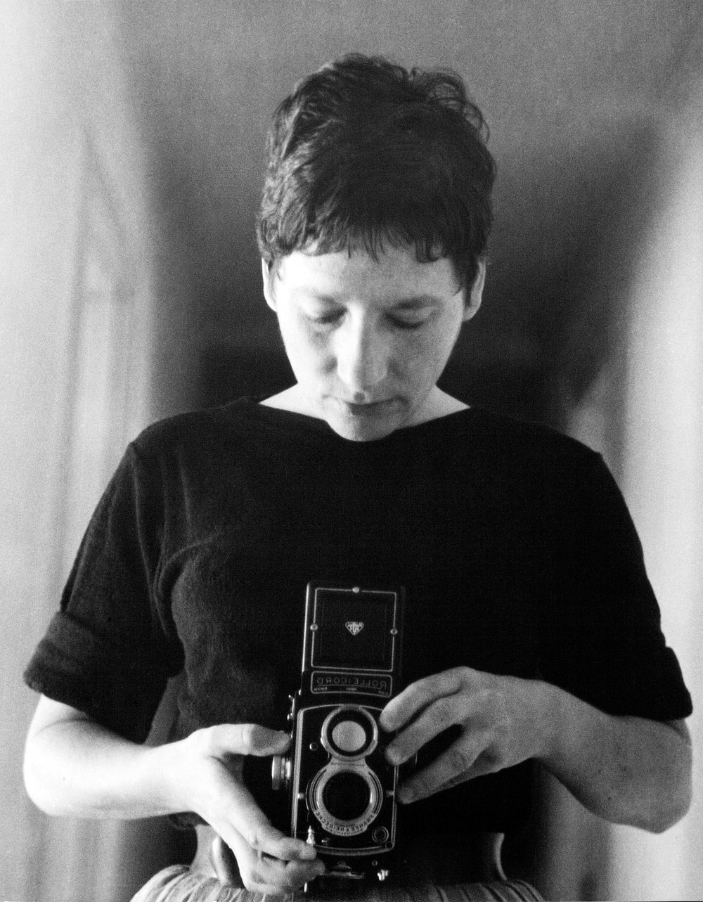 Marti Friedlander,  Self-portrait , 1964, courtesy of FHE Galleries