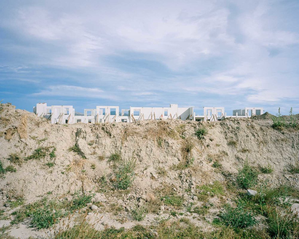Mitchell Bright,  Cleared Top Soil, Retirement Village Construction, Wigram , 2016