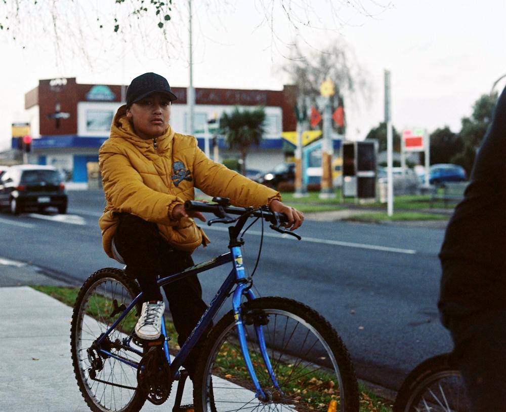 Edith Amituanai,  Treynar on bike  (2015)