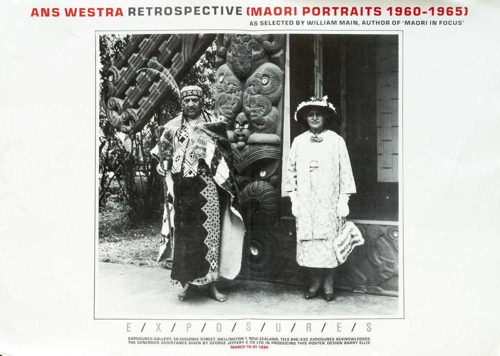 Ans WestraRetrospective – Maori Portraits 1960 - 196512 – 31 March 1984