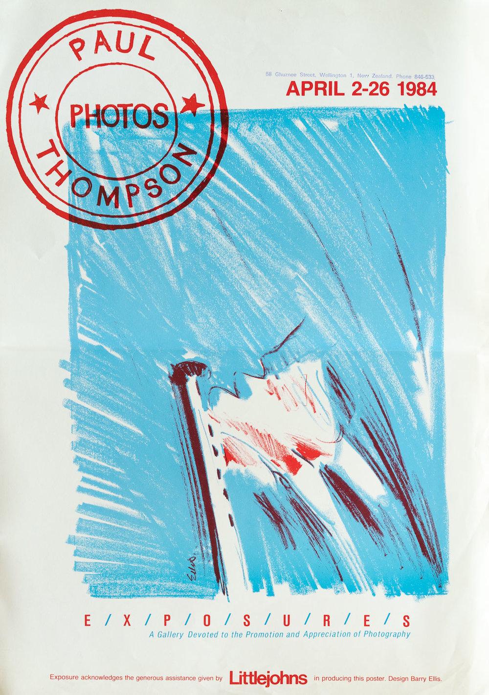 Paul ThomsonPhotos2 – 26 April 1984
