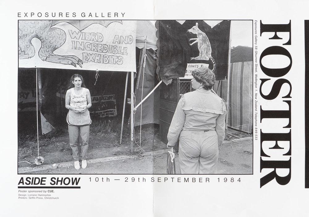 Bruce FosterAside Show10 – 29 September, 1984
