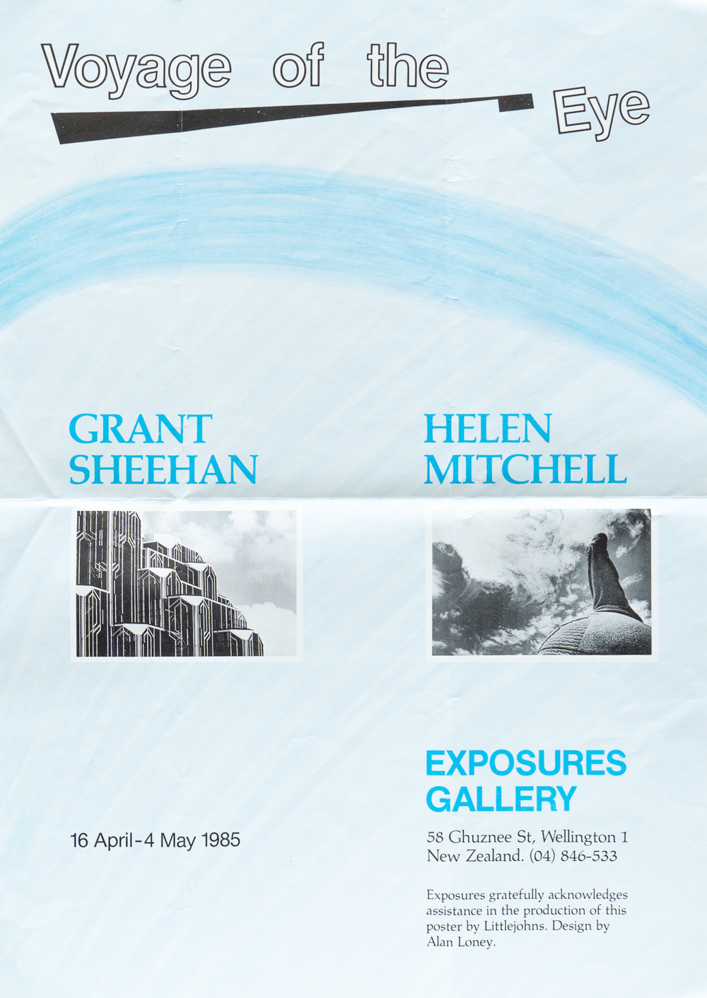 Helen Mitchell and Grant Sheehan Wish You Were Here16 April – 4 May, 1985