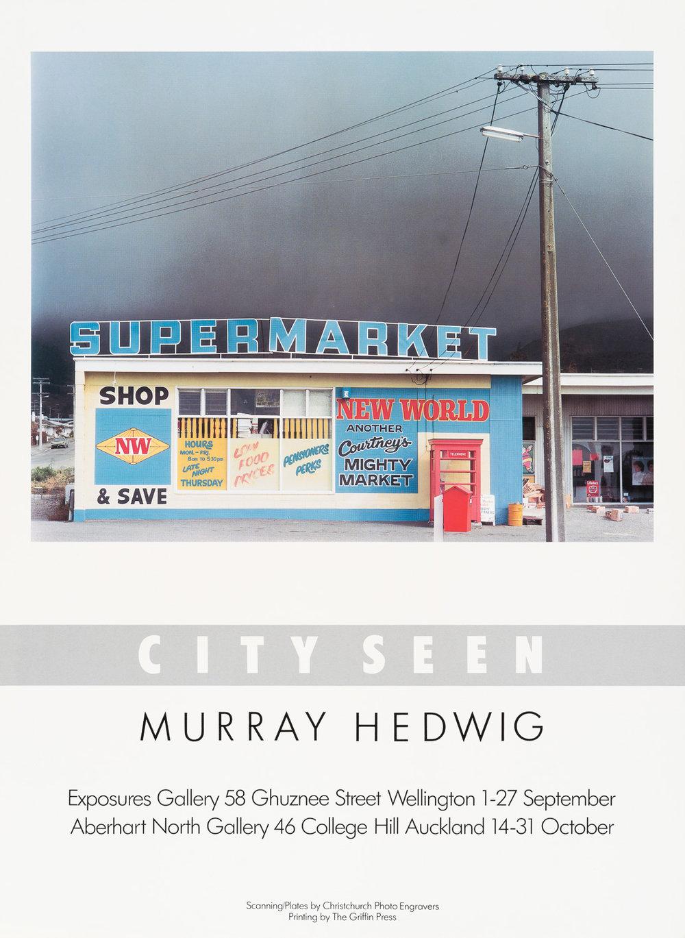 Murray HedwigCity Seen1 – 27 September 1986