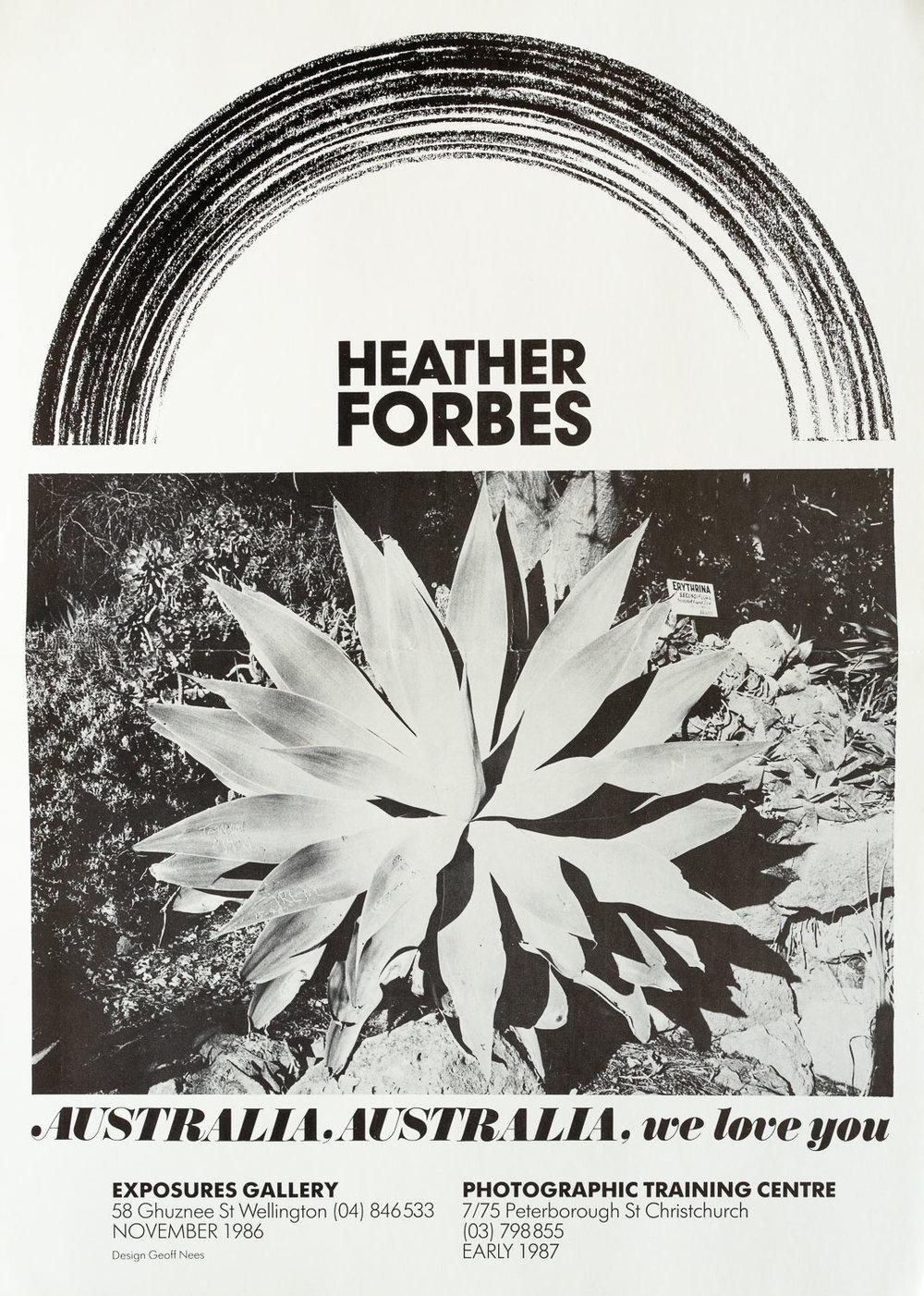 Heather ForbesAustralia, Australia, we love youNovember 1986