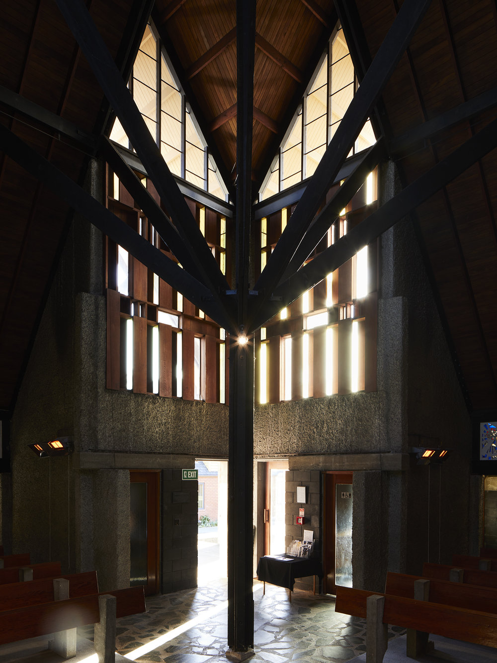 David Straight,  Futuna Chapel, Wellington