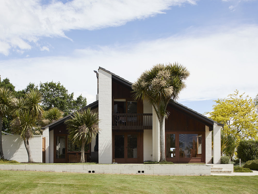 David Straight,  Pattison House, The Brow, Waipawa