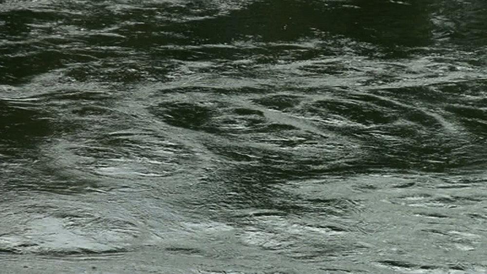 Denise Batchelor, Still frame from video  Flow like the River . HD Video. 3 mins 10 secs (loop), 2014.