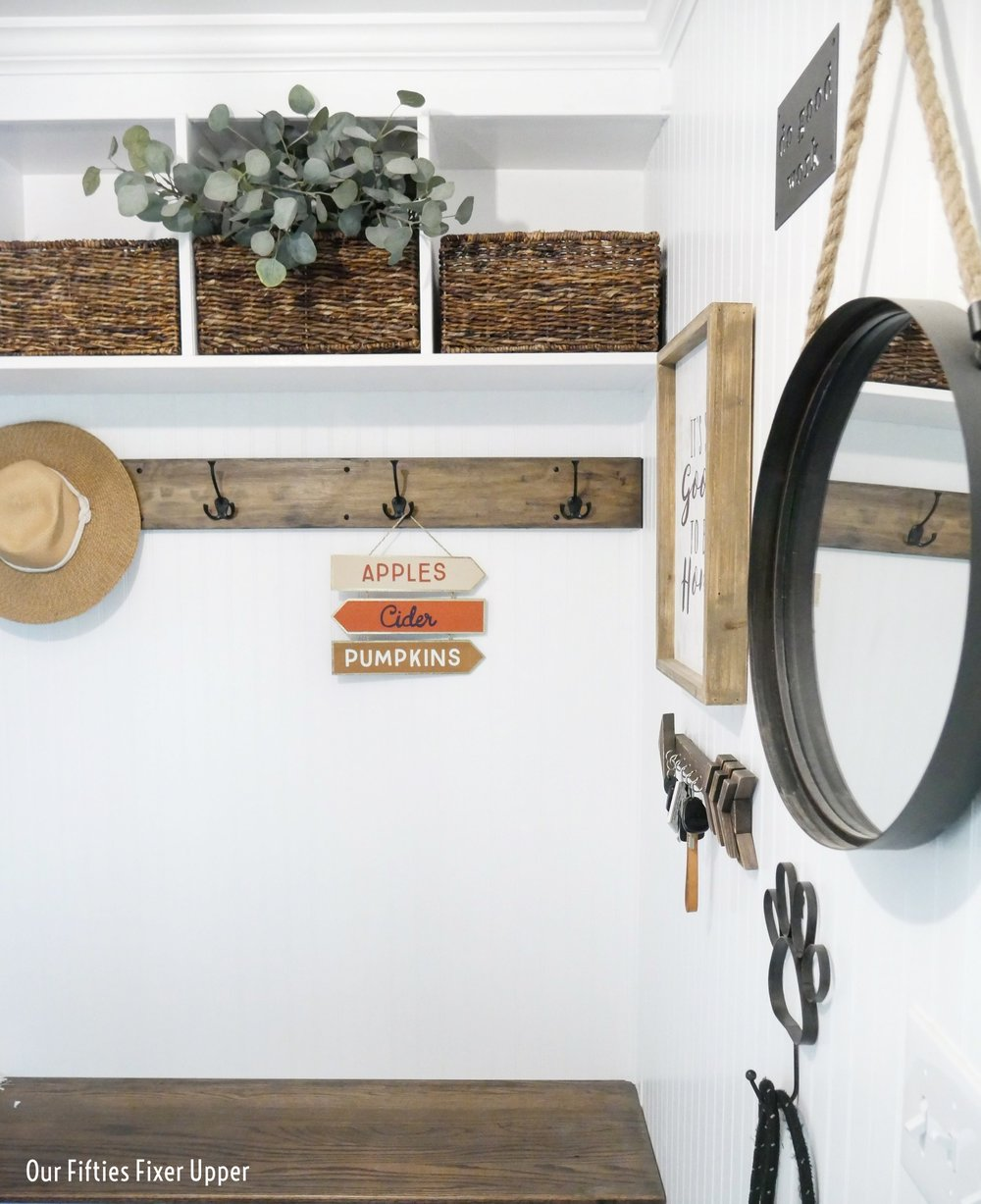 Our Fifties Fixer Upper: Making a Mudroom