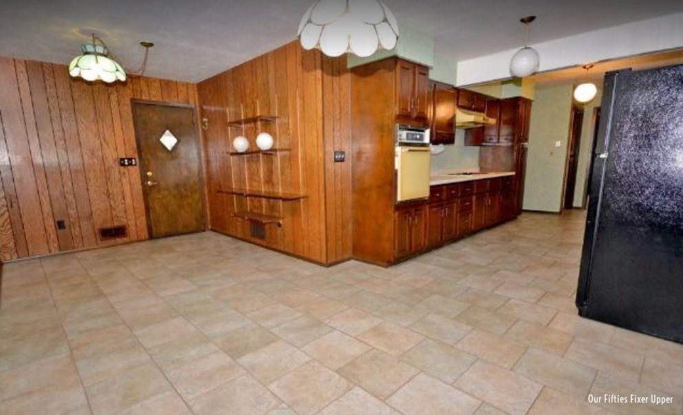 Realtor photo of dining area/kitchen