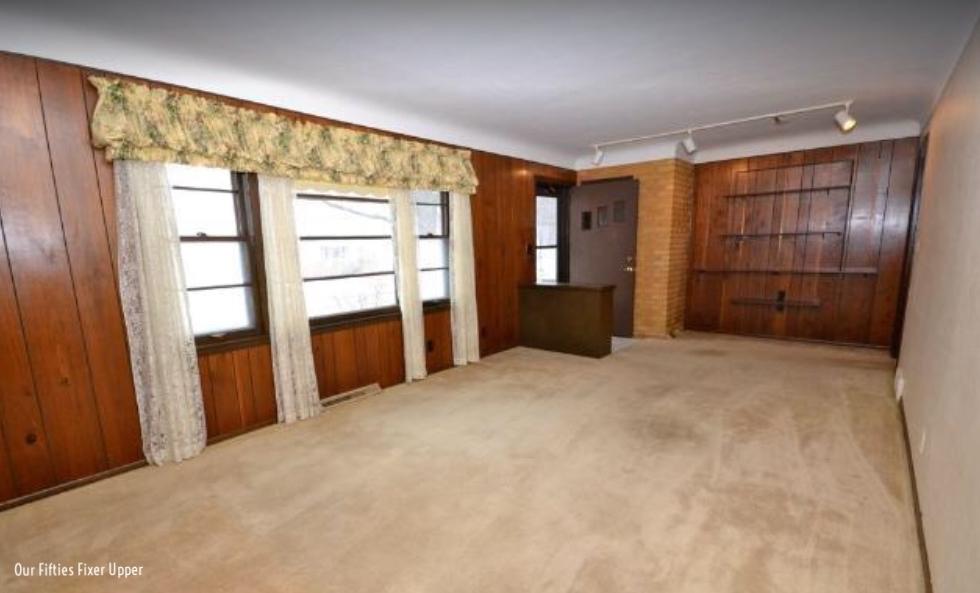 Realtor photo of living room