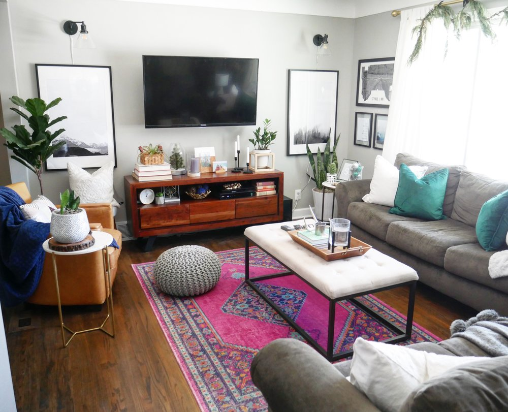Our Fifties Fixer Upper Living Room Makeover