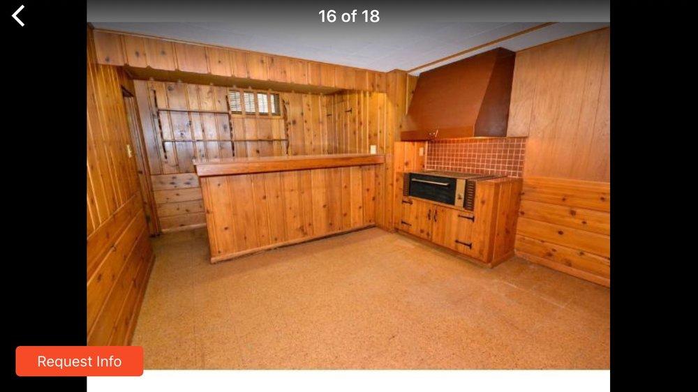 Current basement (realtor photo)