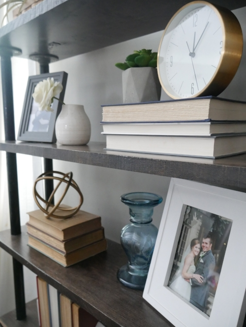 Our Fifties Fixer Upper- Shelf Styling Tips