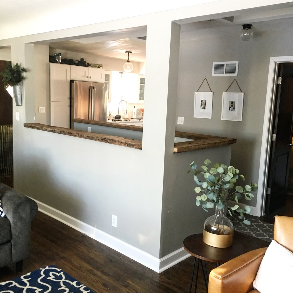 Our Fifties Fixer Upper: Living Room Remodel