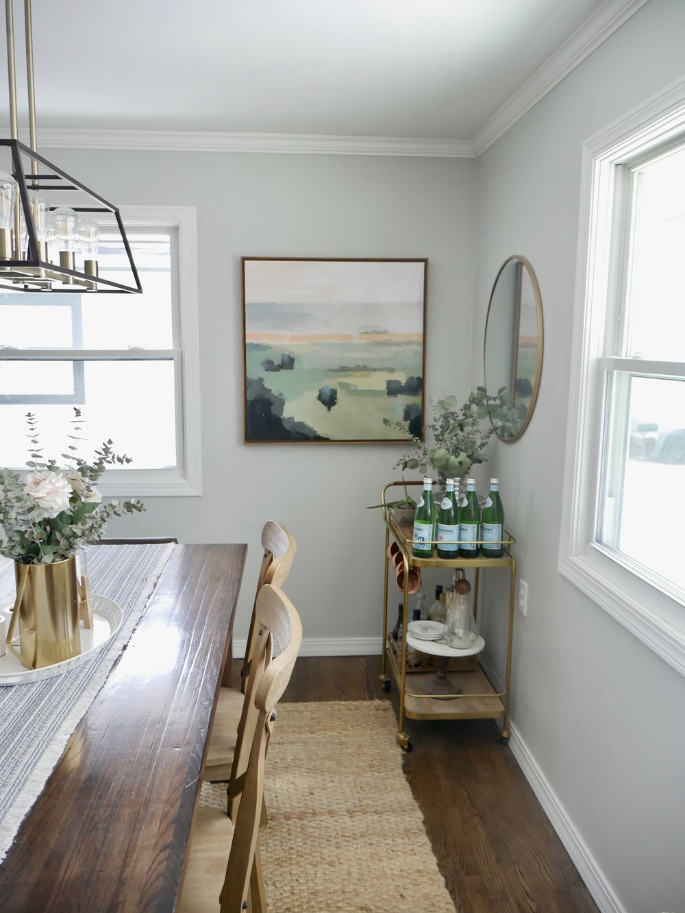 Our Fifties Fixer Upper Dining Sources