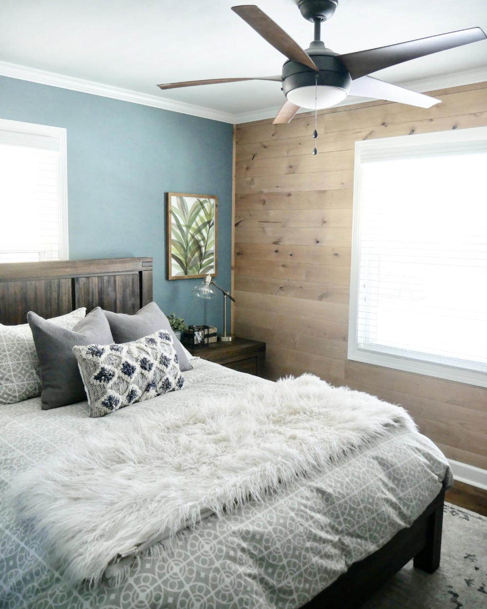 Master Bedroom: Our Fifties Fixer Upper
