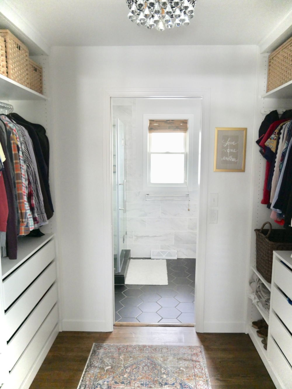 Master Closet: Our Fifties Fixer Upper